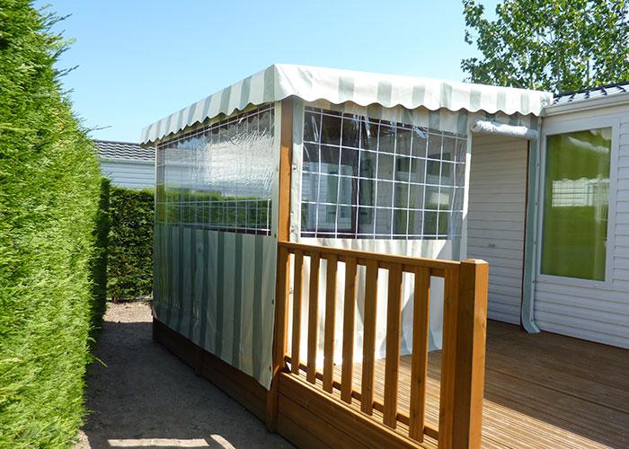 Toile Et Bache Pour Mobil Home Et Piscine A La Roche Sur Yon